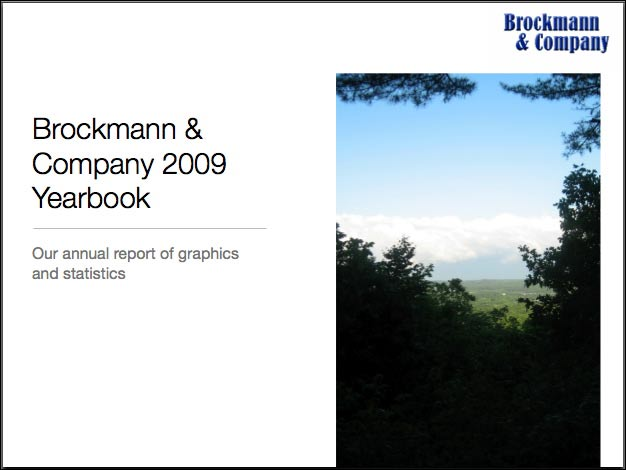 Brockmann 2009 Collaboration Yearbook