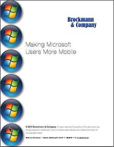 Making Microsoft Users More Mobile