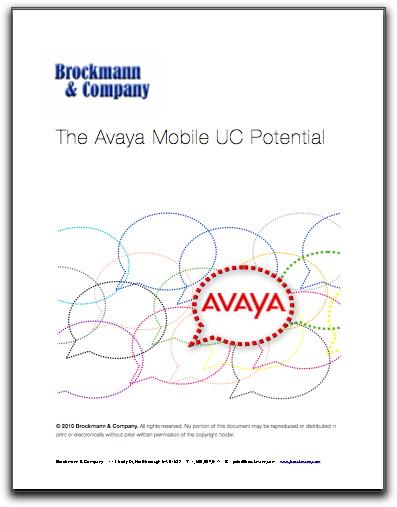 Avaya Users: Mobile UC Potential
