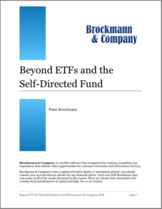 "White paper on What's a ""Self-Directed Fund?"" and how Beyond ETFs enables an SDF for you."